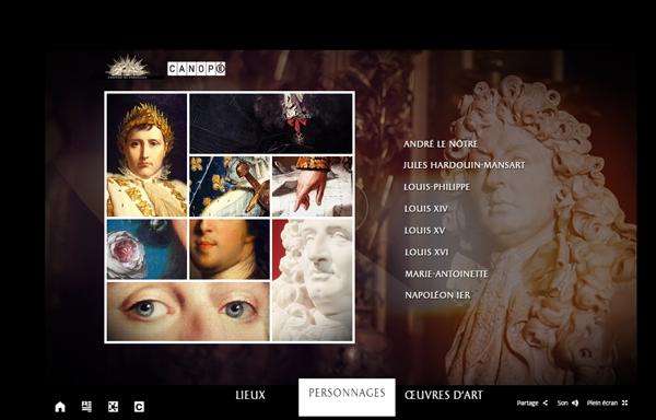 Webdocumentaire Il était une fois Versailles